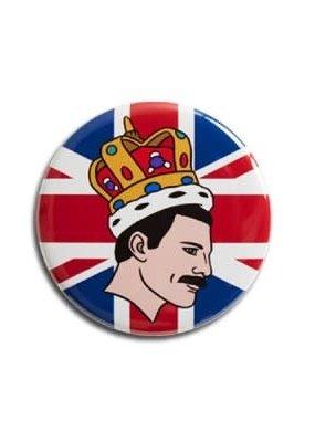 The Found Round Magnet Freddie Mercury
