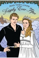The Found Card Princess Bride Wedding
