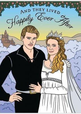 The Found Card Princess Bride Wedding