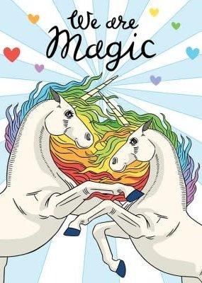 The Found Card We Are Magic Unicorns
