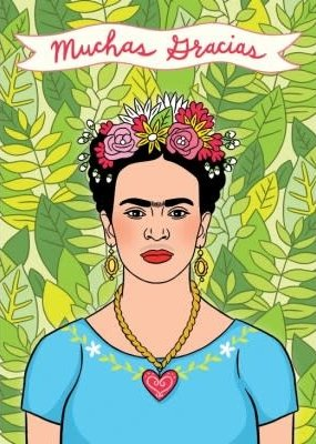 The Found Boxed Cards Frida Muchas Gracias