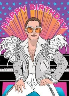 The Found Card Elton Birthday