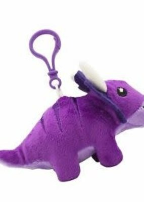 Backpack Buddies Dino Dudes Triceratops Purple