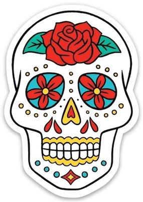 The Found Sticker Sugar Skull