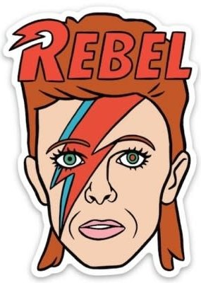 The Found Sticker Bowie