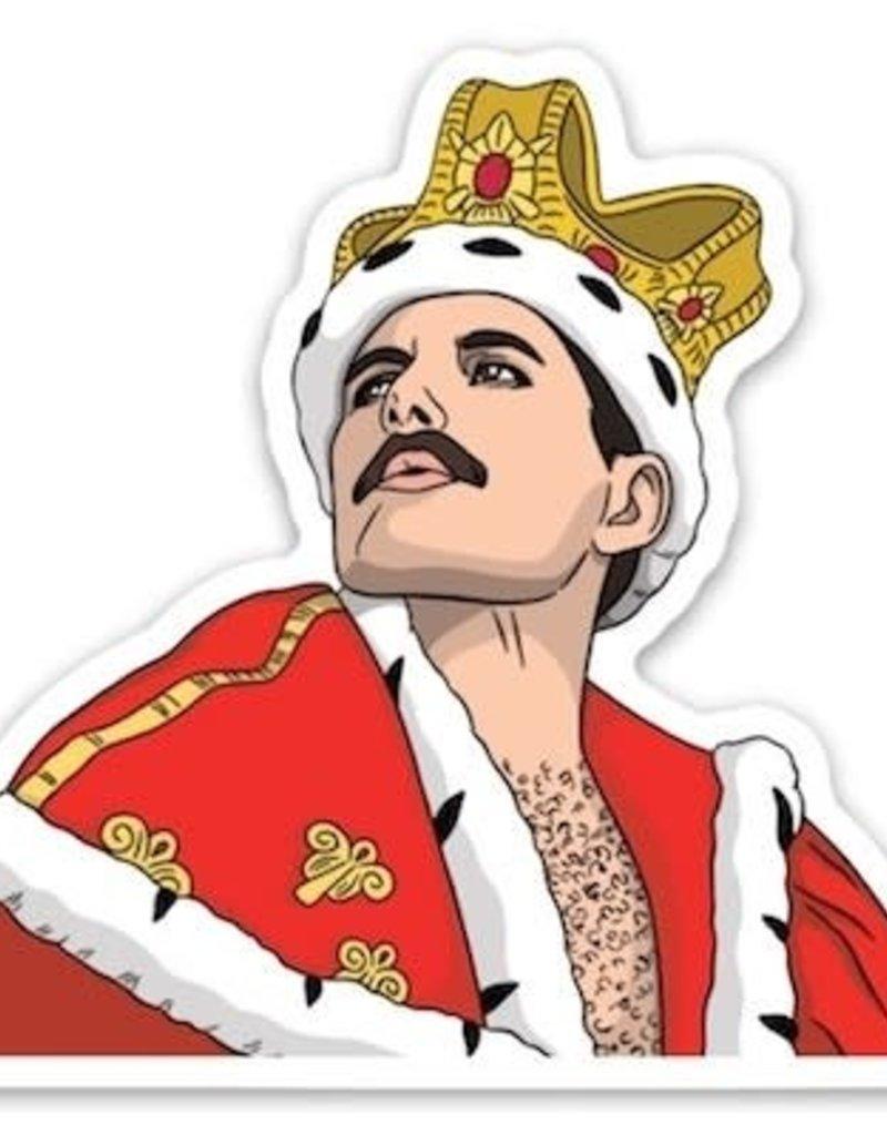 The Found Sticker Freddie Mercury