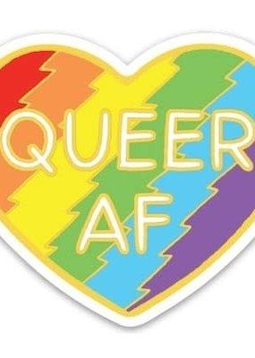 The Found Sticker Queer AF