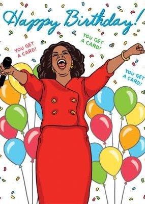 The Found Card Oprah Birthday