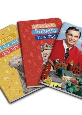 Simon & Schuster Mister Rogers Pocket Notebooks Set of 3