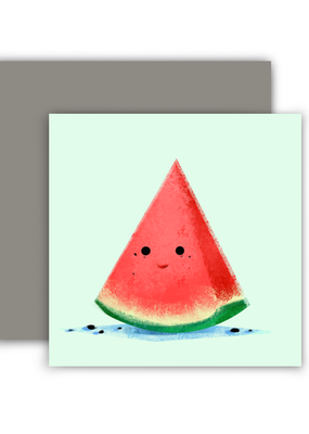 The Little Red House Mini Card Watermelon