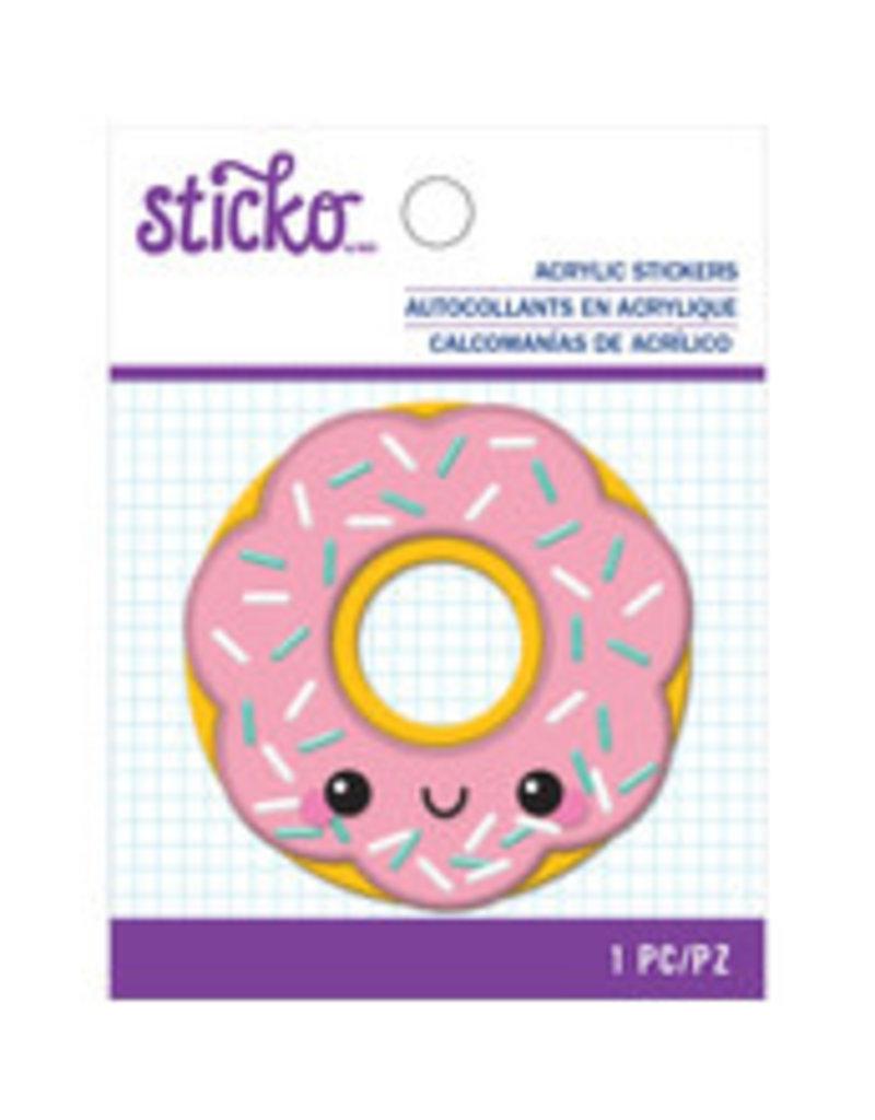 Sticko Acrylic Sticker Happy Donut