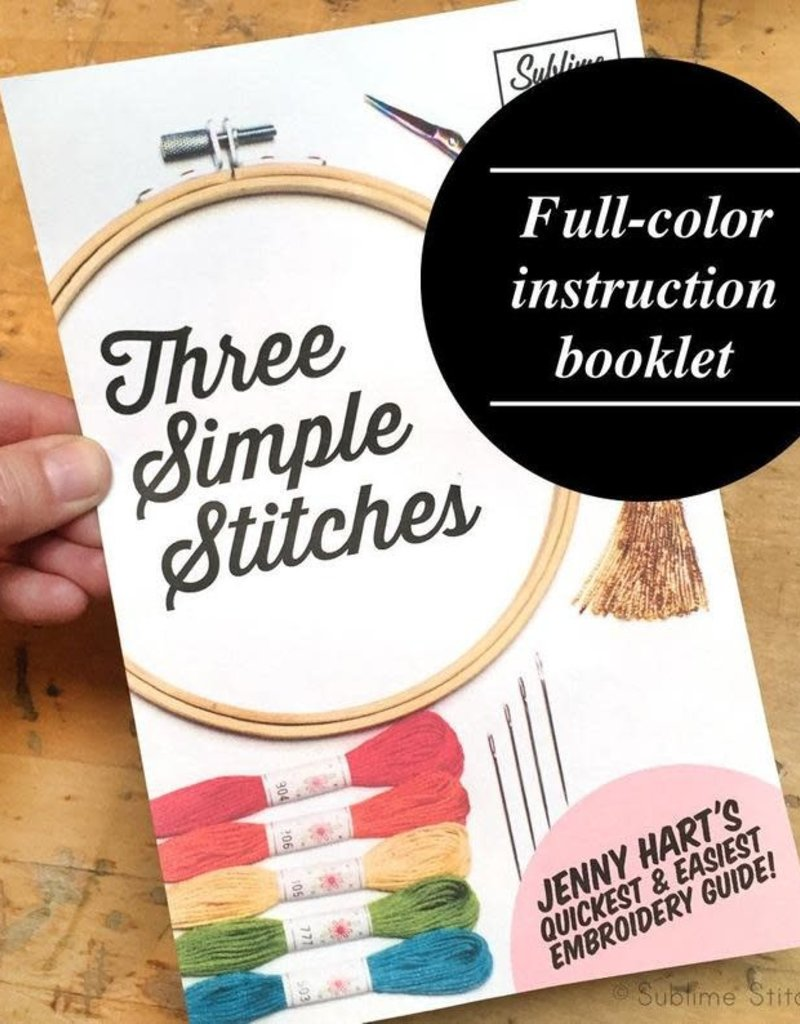 Sublime Stitching Three Simple Stitches Booklet
