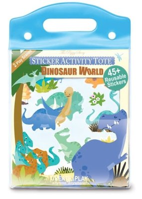The Piggy Story Sticker Activity Tote Dinosaur World