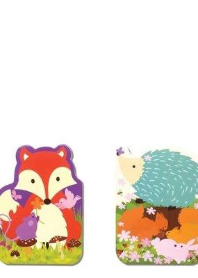 The Piggy Story Pocket Doodle Pad Fox