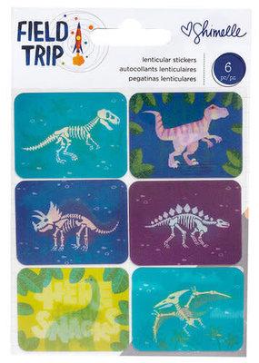 Shimelle Sticker Lenticular Dino