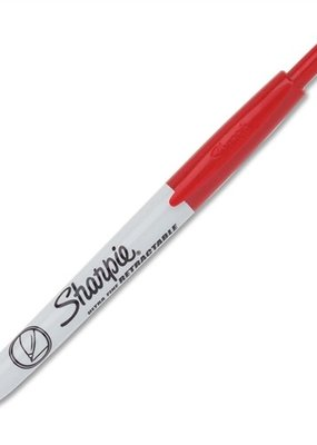 Sharpie Sharpie Retractable Ultra Fine Red