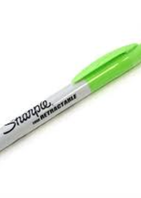 Sharpie Sharpie Retractable Ultra Fine Lime