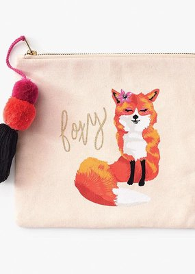 Waste Not Pouch Foxy Canvas