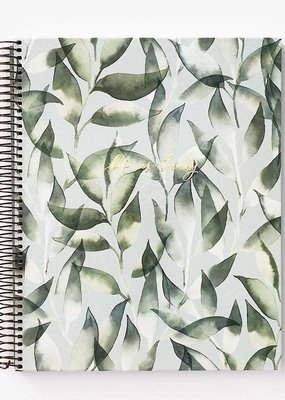 Waste Not Notebook Spiral Dusty Laurel Leaves