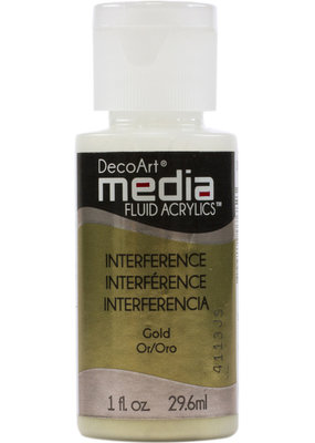 DecoArt Media Fluid Acrylic Interference Colors 1 oz.