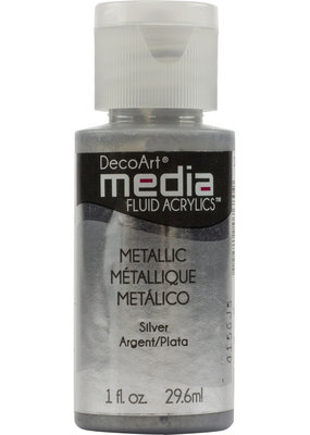 DecoArt Media Fluid Acrylic Metallics 1 oz.