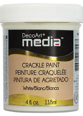 DecoArt Media Crackle Paint 4 oz. White