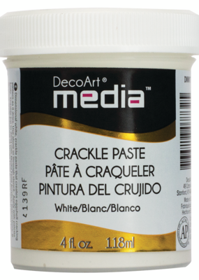 DecoArt Media Crackle Paste 4 oz. White