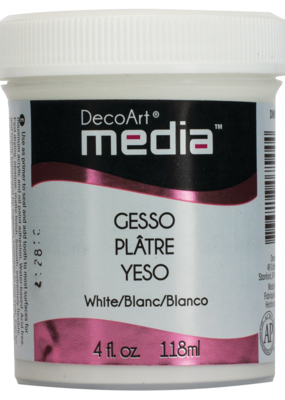 DecoArt Media Gesso White 4 oz.