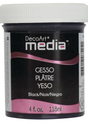 DecoArt Media Gesso 4 oz. Black