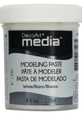 DecoArt Media Modeling Paste 4 oz. White