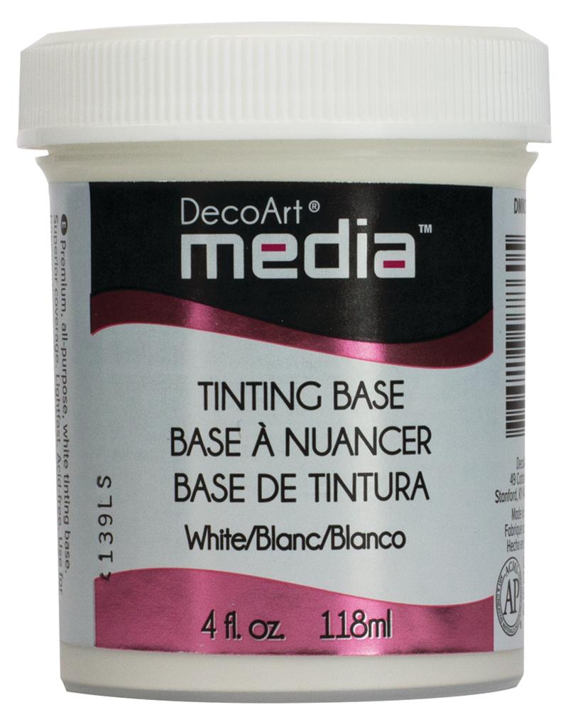 DecoArt Media Tinting Base 4 oz. White