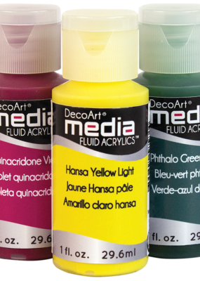 DecoArt Media Fluid Acrylic 1 oz.