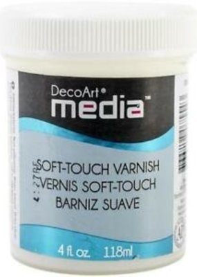DecoArt Media Varnish 4 oz. Soft Touch