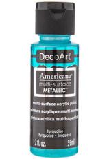 DecoArt Americana Multi-Surface Satin Acrylic Metallic