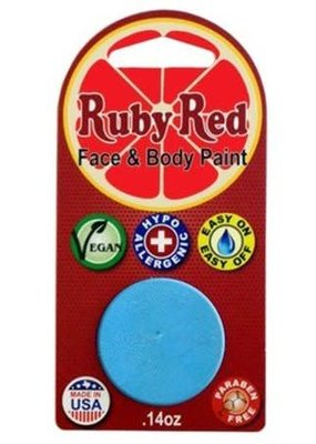 Ruby Red Ruby Red Face Paint Single Pastel Blue