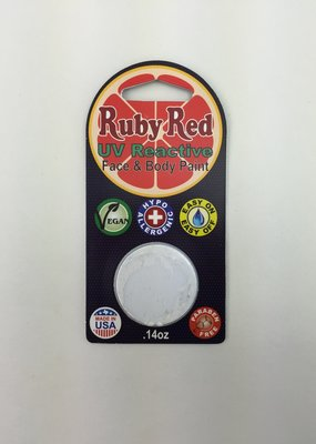 Ruby Red Face Paint Refill UV White