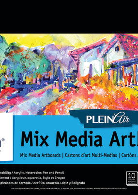 Canson Plein Air Mixed Media Artboard 9 x 12