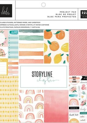 Heidi Swapp Project Pad Storyline Chapter