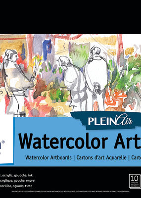 Canson Plein Air Watercoler Artboards 9 x 12