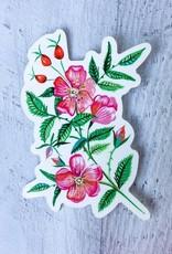 Katie Daisy Sticker Wild Rose