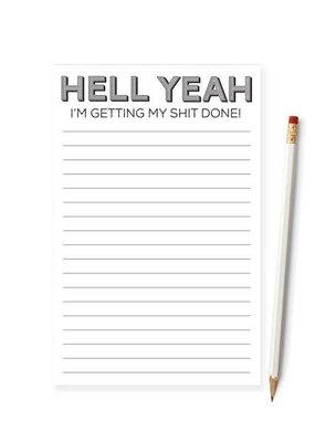 Tiramisu Paperie Notepad Mature