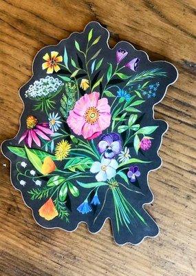 Katie Daisy Sticker Bouquet