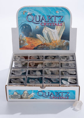 GeoCentral Stones to Go Boxes Quartz Crystals