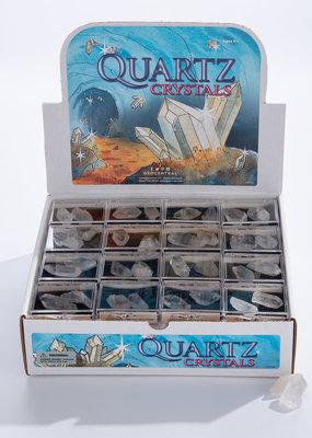 GeoCentral Stones to Go Boxes Quartz Crystals