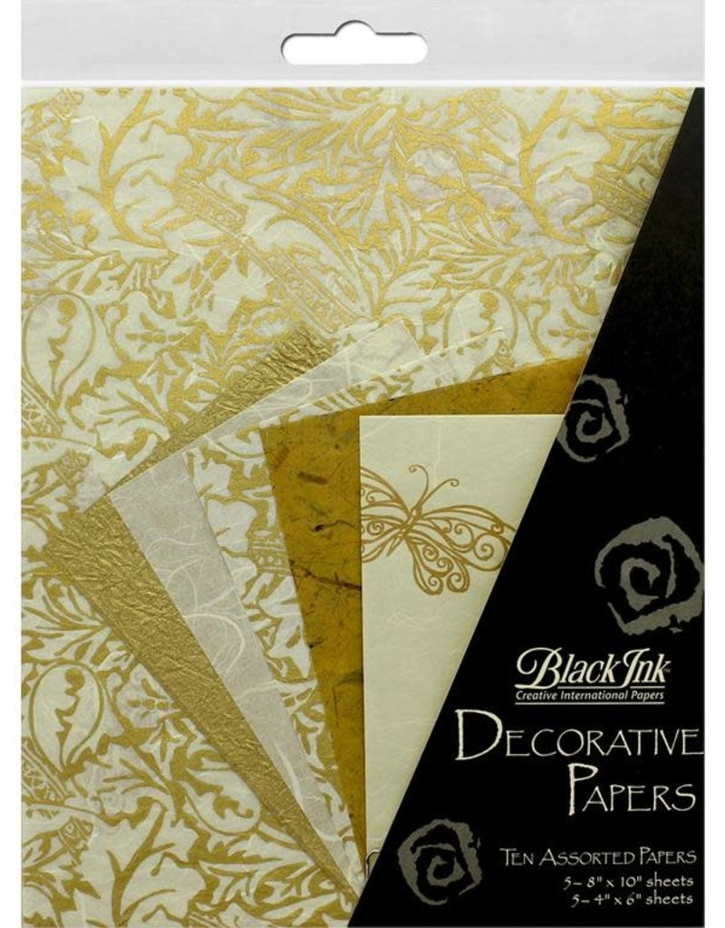 Graphic Products Decorative Papers Golden Glow 10pc