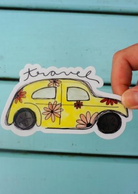 KPB Designs Sticker Travel