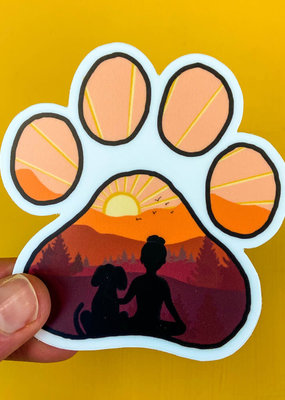 KPB Designs Sticker Dog Paw