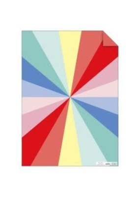 Meri Meri Wrap Sheet Colorful Wheel
