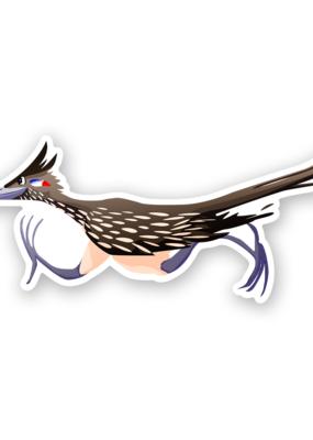 Mincing Mockingbird Vinyl Sticker Roadrunner