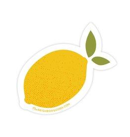 The Neighborgoods Sticker Lemon